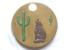 Coyote stepping stone mold