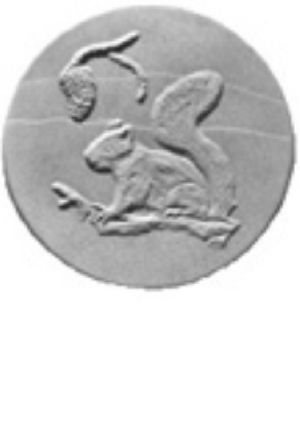 Squirrel Stepping stone mold